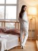 Пижама женская М101т (футер)